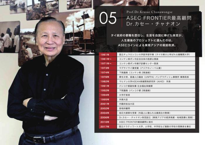 ASEC FRONTIER.inc Dr. Krasae Chanawongseのイメージ画像